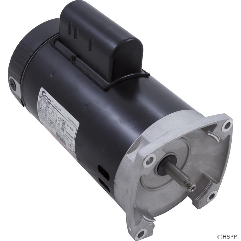B2847 3 4 hp pool pump motors on sale at yourpoolhq for Square flange pool pump motor