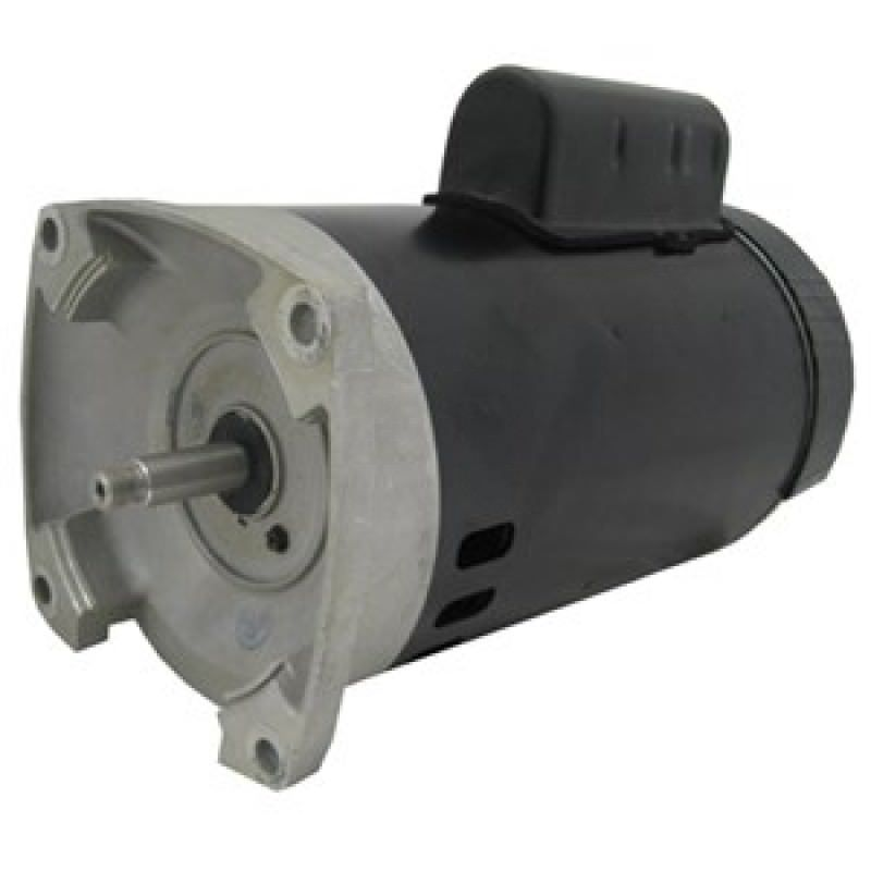 Hsq1102 tristar pool pump motor 56y frame 1 hp square for Square flange pool pump motor