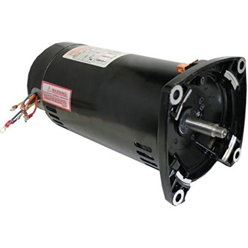 Q3302v1 3 phase 3 hp square flange pool pump motors on for Square flange pool pump motor