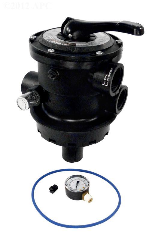Hayward SP0714T Vari-Flo Multiport Valve for Pro Series Sand Filter - 1.5 Inch