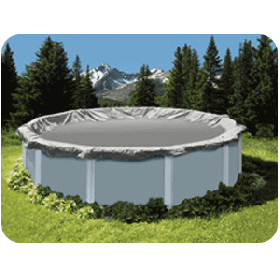 Above Ground Pool Winter Cover For 28 ft Round Pool 15yr Warranty