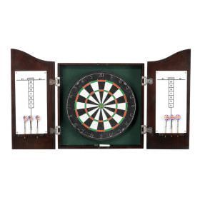 Deluxe Solid Wood Dart Cabinet Set
