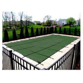 Green Mesh Pool Safety Cover 15 Year