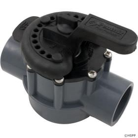 Pentair 2-Way Diverter Valve PVC - 1.5 Inch x 2 Inch - 263038