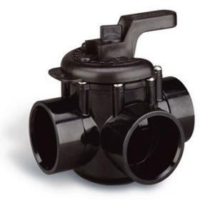 Pentair 3-Way 1.5 Inch x 2 Inch CPVC Diverter Valve 263035