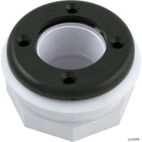 Pentair 86205101 Threaded 1.5 Inch Inlet Fitting - Black