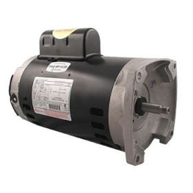 Pool Pump Motor 2 HP Square Flange 115/230V B2859 Up Rated
