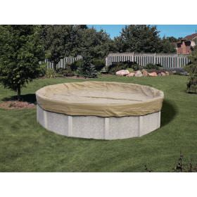 Tan Round Winter Covers