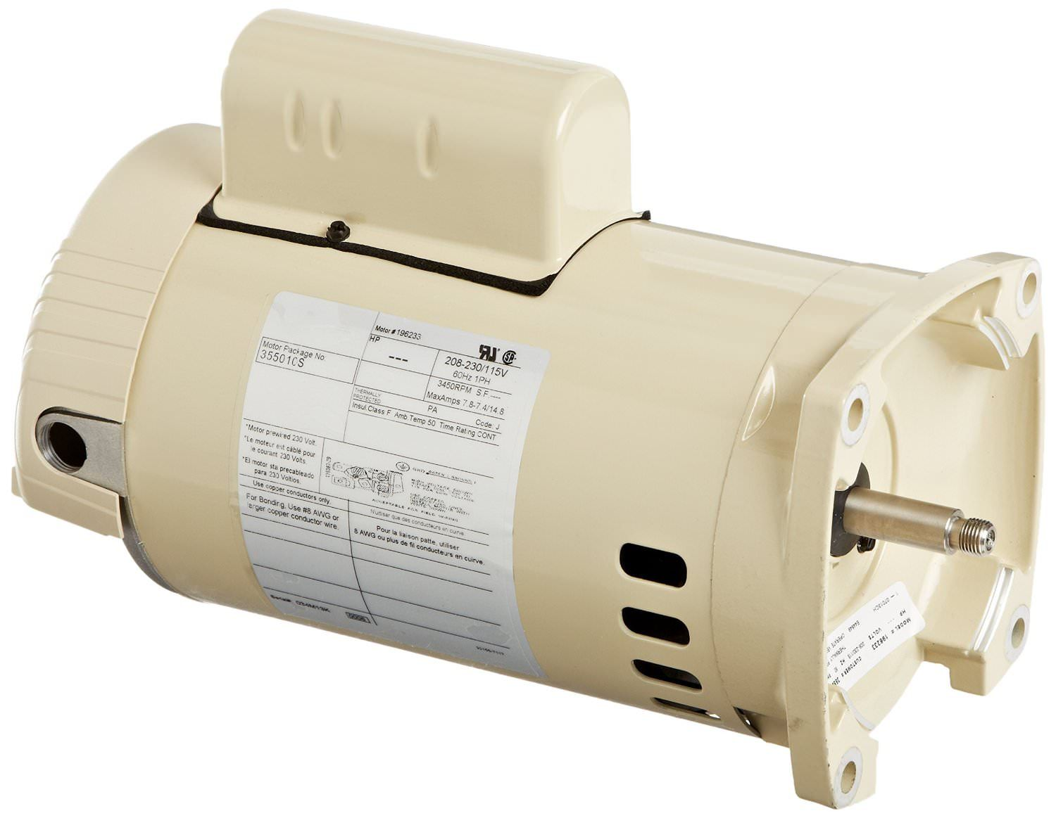 Pool pump motors on sale at yourpoolhq for Pentair 1 hp pool pump motor